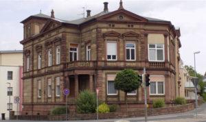 Außenansicht der Räumlichkeiten in Miltenberg